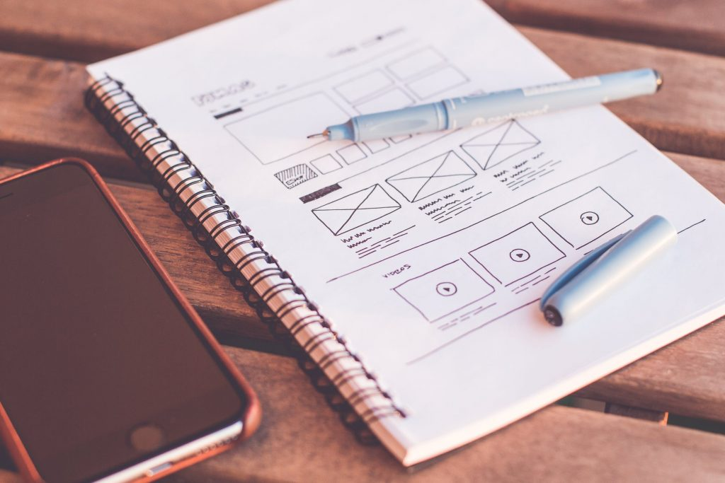 Wireframing in Notebook