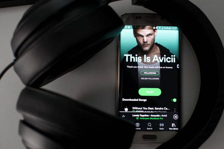 avicii spotify headphone